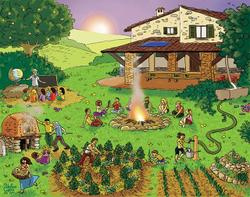 Image result for cohousing ecovillaggi