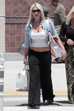 Brooke Hogan Arrives at Bob Hope Airport in Burbank, CA - July 23, 2010 (x9)