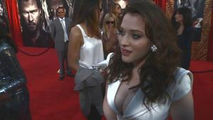 Kat Dennings - 'Thor' Premiere Interviews (2011), 720p