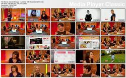 Dannii Minogue - Lorraine 12th November 2012 HD