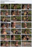 Jamie Chung and Stacy Keibler jogging  - Samurai Girl